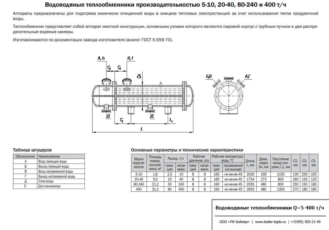 Теплообменник вес производительность организация душа с теплообменника